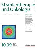 Strahlentherapie und Onkologie
