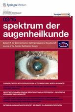 Spektrum der Augenheilkunde