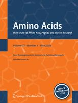 Computational strategies to design new highly potential BSAO polyamine substrates - Abstracts presented at the 13th International Congress on Amino acids, peptides and proteins