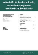 Zeitschrift für Hochschulrecht, Hochschulmanagement und Hochschulpolitik: zfhr