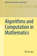 Algorithms and Computation in Mathematics