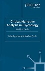 Critical Narrative Analysis in Psychology