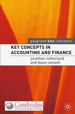 Key Concepts in Accounting and Finance :