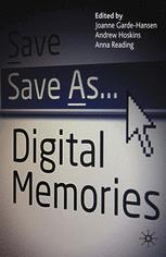 Save As … Digital Memories