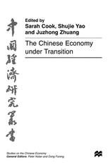 The Chinese Economy under Transition