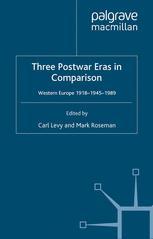 Three Postwar Eras in Comparison