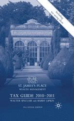 St. James's Place Wealth Management Tax Guide 2010–2011
