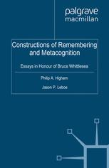 Constructions of Remembering and Metacognition