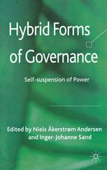 Hybrid Forms of Governance