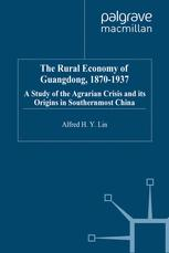 The Rural Economy of Guangdong, 1870-1937