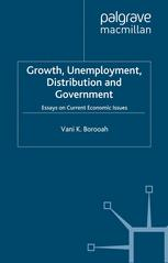 Growth, Unemployment, Distribution and Government