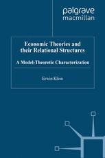 Economic Theories and their Relational Structures