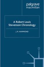 A Robert Louis Stevenson Chronology