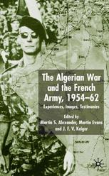 The Algerian War and the French Army, 1954–62