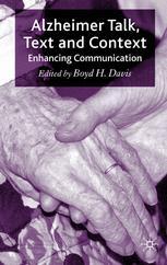 Alzheimer Talk, Text and Context