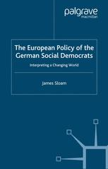 The European Policy of the German Social Democrats