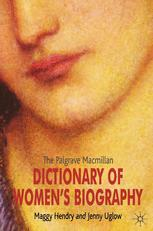 Dictionary of Women's Biography