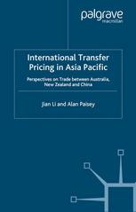 International Transfer Pricing in Asia Pacific