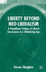 Liberty Beyond Neo-liberalism