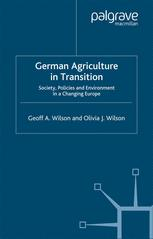 German Agriculture in Transition