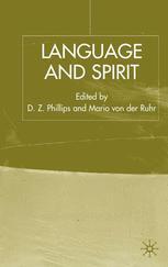 Language and Spirit