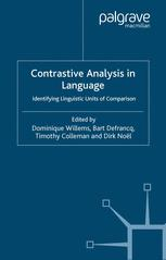 Contrastive Analysis in Language