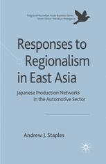 Responses to Regionalism in East Asia