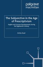 The Subjunctive in the Age of Prescriptivism