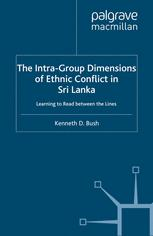 The Intra-Group Dimensions of Ethnic Conflict in Sri Lanka