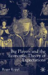 Big Players and the Economic Theory of Expectations