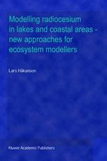 Modelling radiocesium in lakes and coastal areas — new approaches for ecosystem modellers