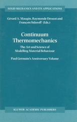 Continuum Thermomechanics