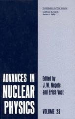 Advances in Nuclear Physics