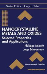 Nanocrystalline Metals and Oxides