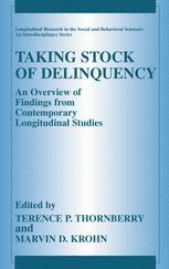 Taking Stock of Delinquency