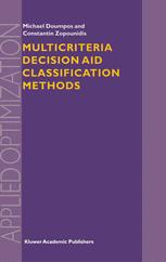 Multicriteria Decision Aid Classification Methods