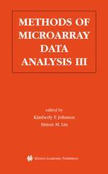 Methods of Microarray Data Analysis III