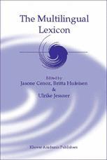 The Multilingual Lexicon