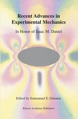 Recent Advances in Experimental Mechanics