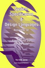 System Specification & Design Languages