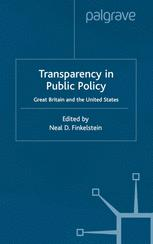 Transparency in Public Policy