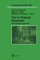 Fire in Tropical Savannas