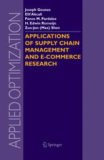 Applications of Supply Chain Management and E-Commerce Research