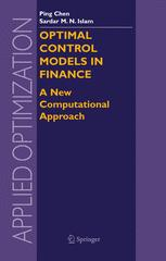 Optimal Control Models in Finance