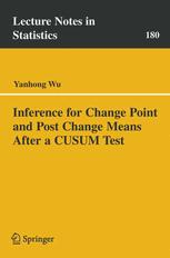 Inference for Change Point and Post Change Means After a CUSUM Test