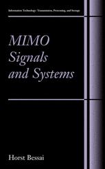 MIMO Signals and Systems