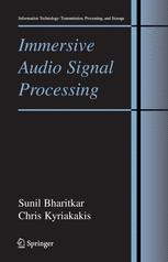 Immersive Audio Signal Processing