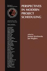 Perspectives in Modern Project Scheduling