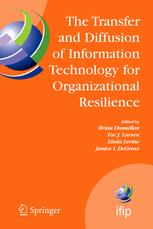 The Transfer and Diffusion of Information Technology for Organizational Resilience