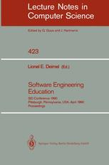 Software Engineering Education